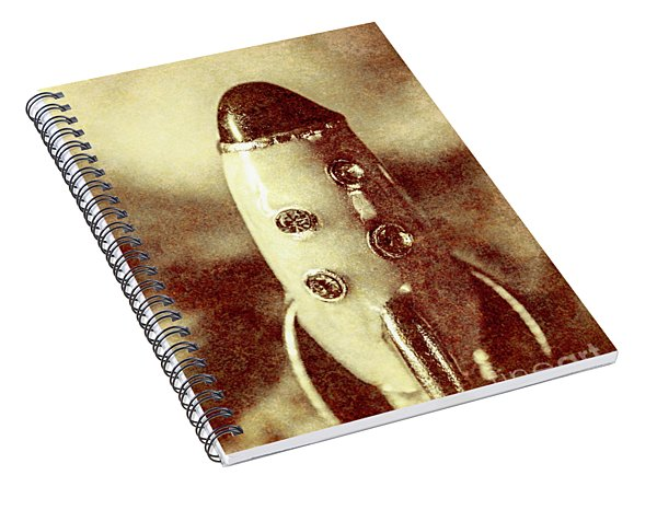 Visiting The Civilisation Of Ancient Mars  Spiral Notebook