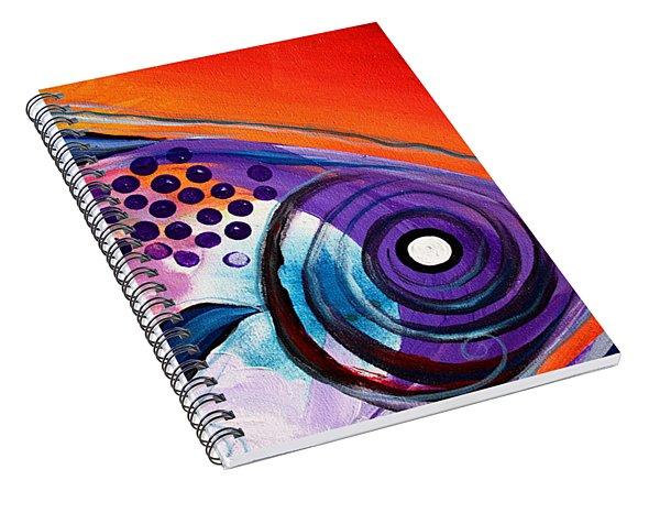 Vivid Fish Spiral Notebook