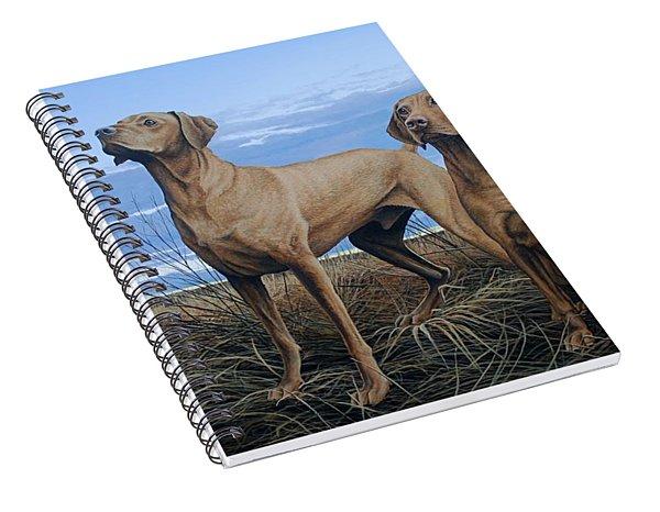 Vizslas Spiral Notebook