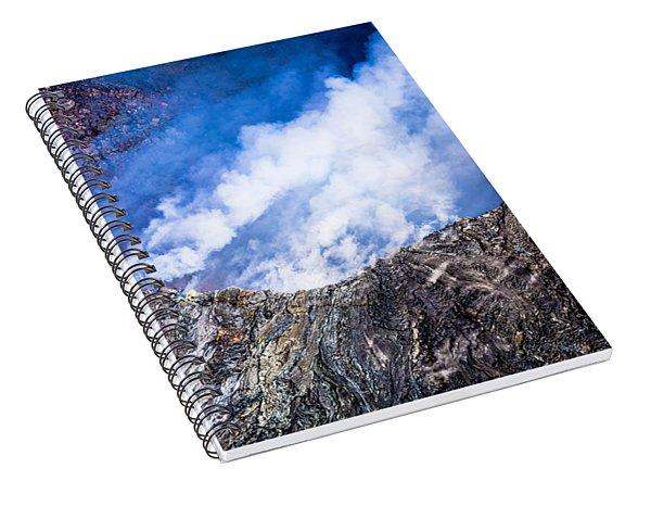 Kilauea Volcano Spiral Notebook