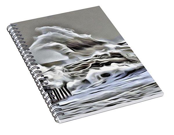 Wake Of Nature Spiral Notebook
