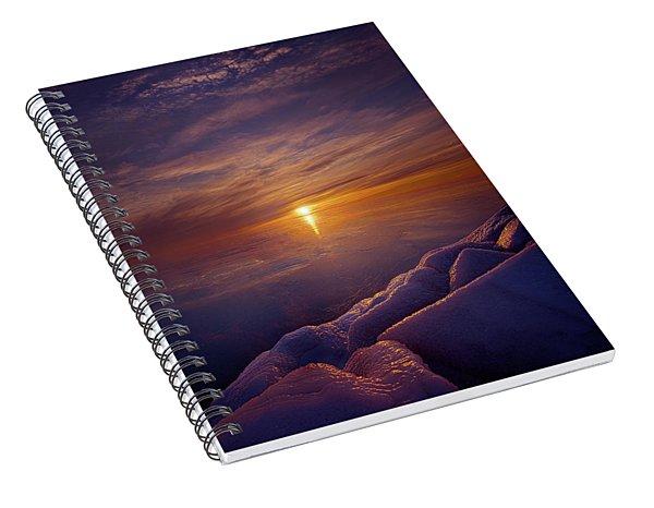Wake The Sun Spiral Notebook