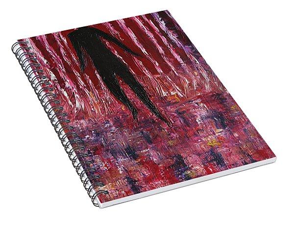 Walking Away Spiral Notebook