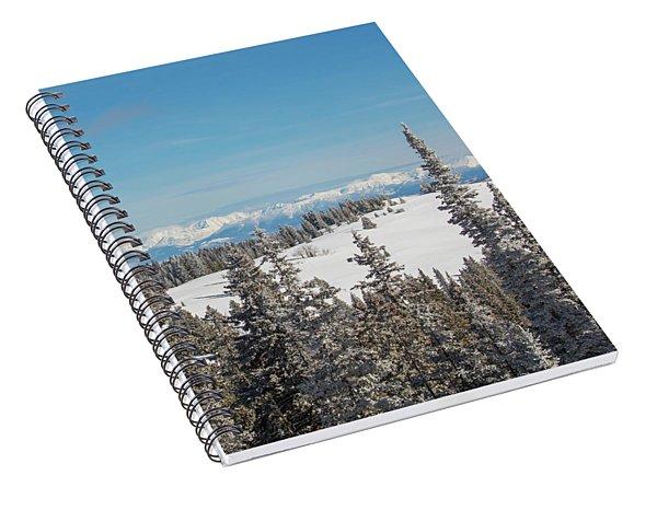 Walton Peak  Spiral Notebook