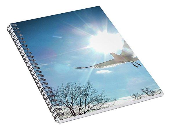 Warmed Wings Spiral Notebook