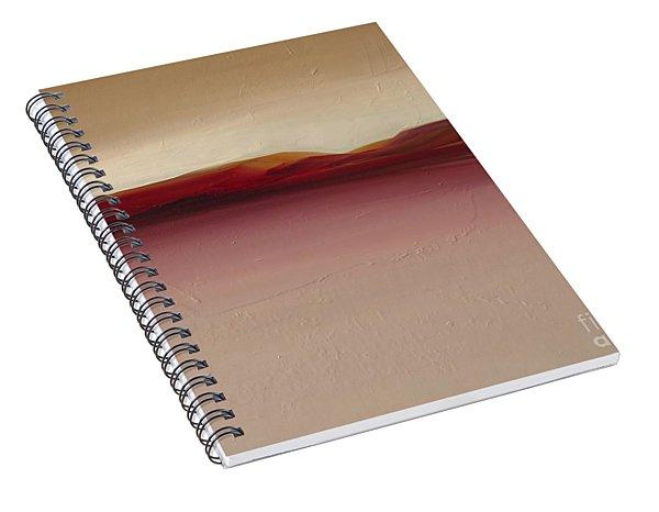 Warm Mountains Spiral Notebook