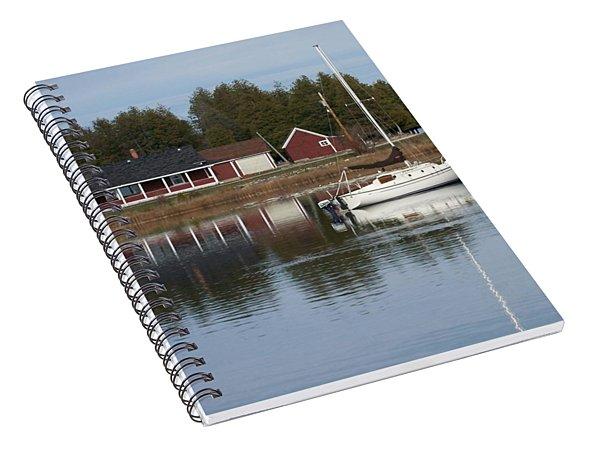 Washington Island Harbor 4 Spiral Notebook