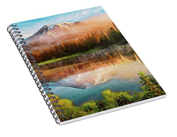 Washington, Mt Rainier National Park - 04 Spiral Notebook