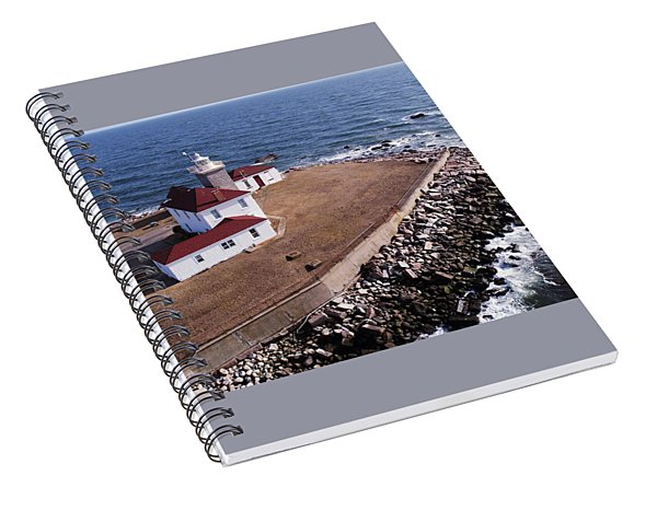 Watch Hill Lighhouse Spiral Notebook