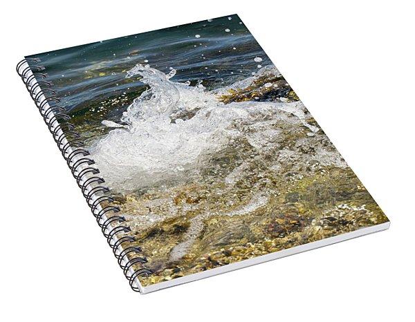 Water Elemental Spiral Notebook