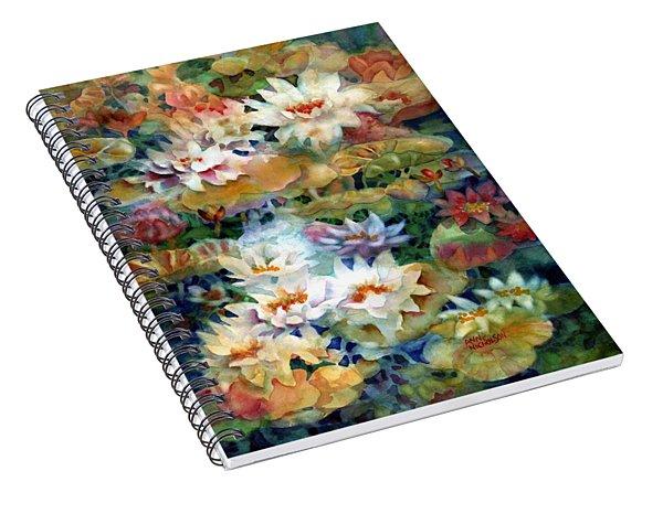 Water Garden II Spiral Notebook