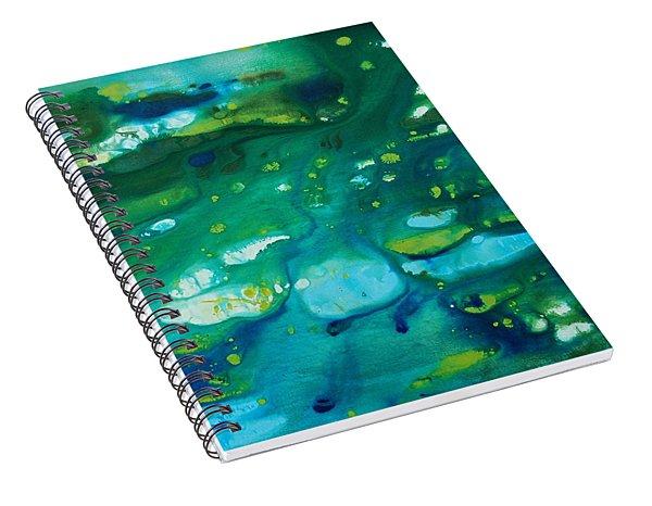 Water Movement Spiral Notebook