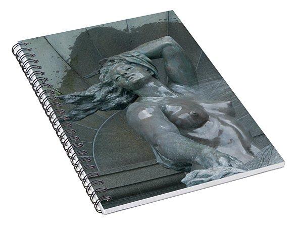 Water Nymph Spiral Notebook