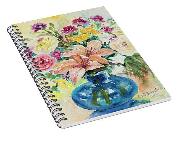 Watercolor Series 128 Spiral Notebook