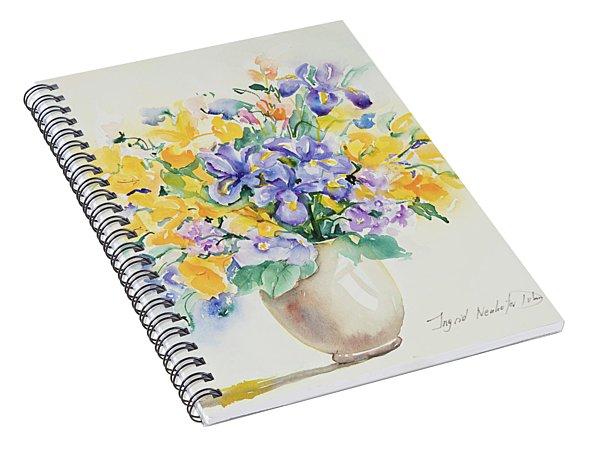 Watercolor Series 129 Spiral Notebook