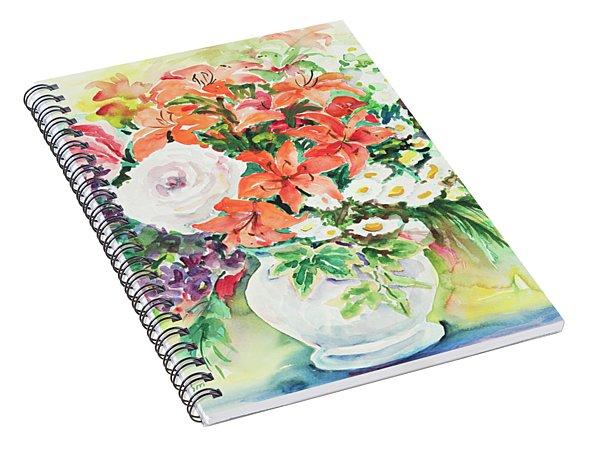 Watercolor Series 165 Spiral Notebook