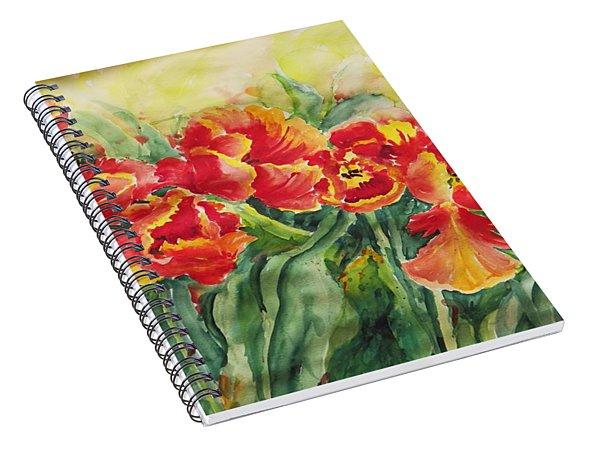 Watercolor Series No. 241 Spiral Notebook