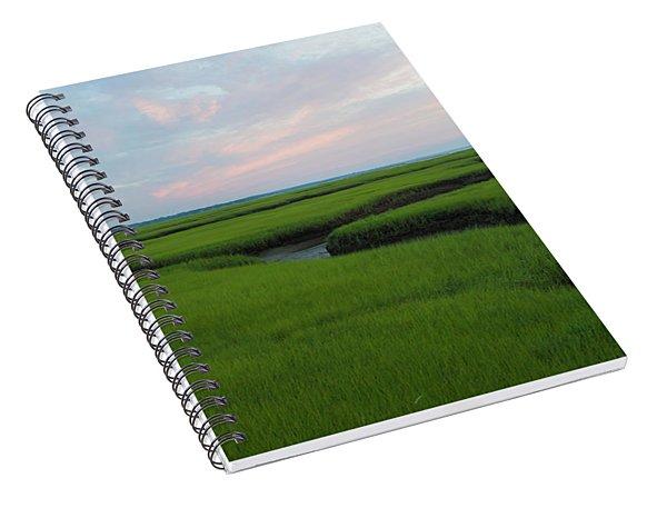 Watercolor Sunset Spiral Notebook