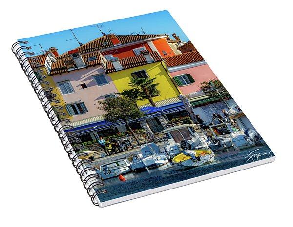 Watercolors In Split Spiral Notebook