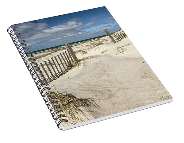 Welcome To The Beach Spiral Notebook