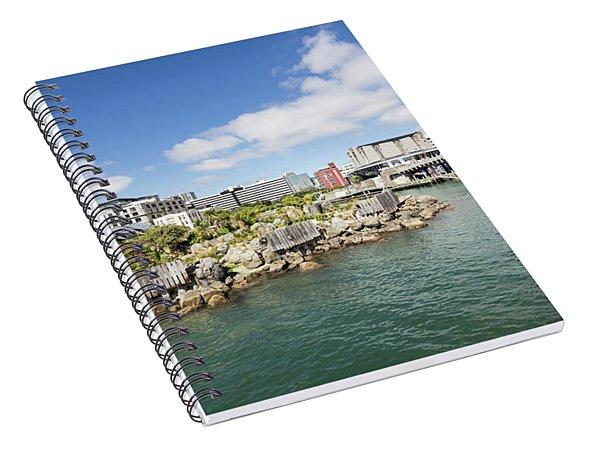 Wellington Waterfront Spiral Notebook