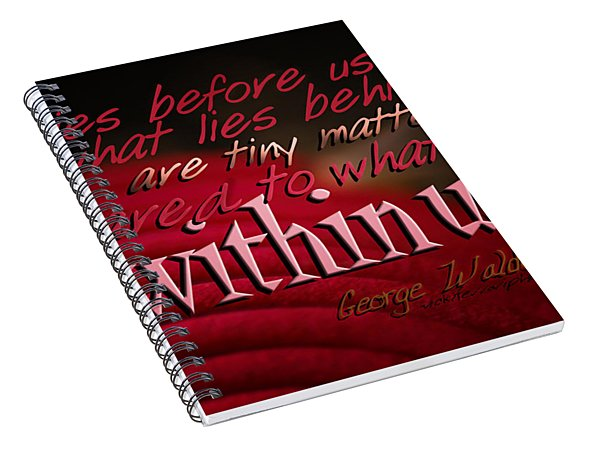 What Lies Within Us Spiral Notebook