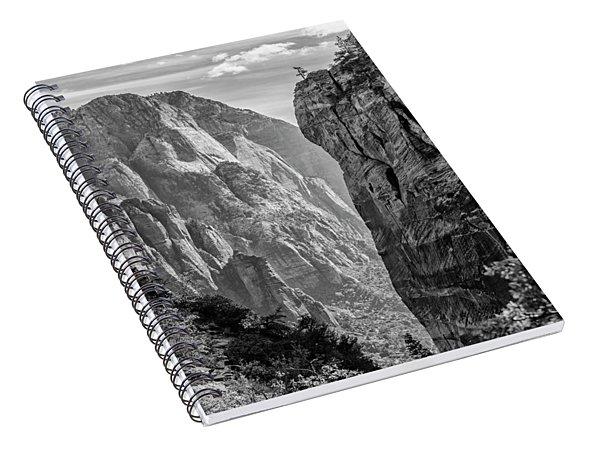 Where Angels Land Spiral Notebook