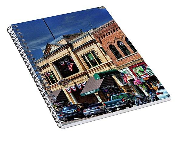 Whiskey Row - Prescott  Spiral Notebook