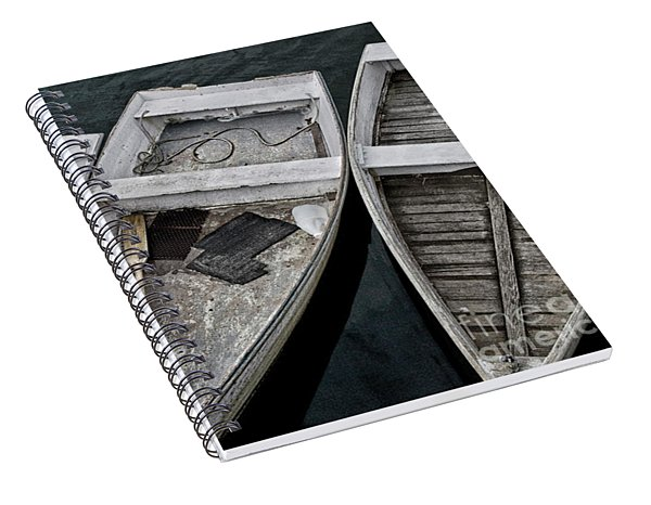 White Boats Spiral Notebook