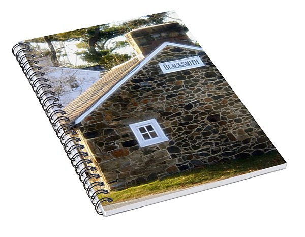 White Horse, Pennsylvania Blacksmith Shop Spiral Notebook