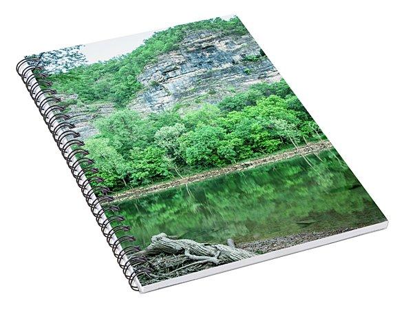 White River, Arkansas 4 Spiral Notebook