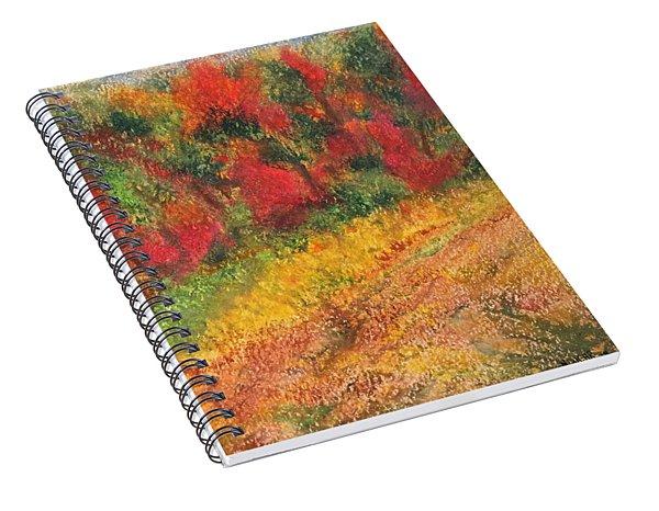 Wild Fire Spiral Notebook