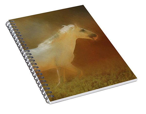 Wild Horse Run Spiral Notebook