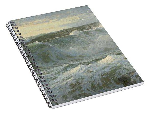 William Trost Richards American 1833  1905   Seascape Spiral Notebook