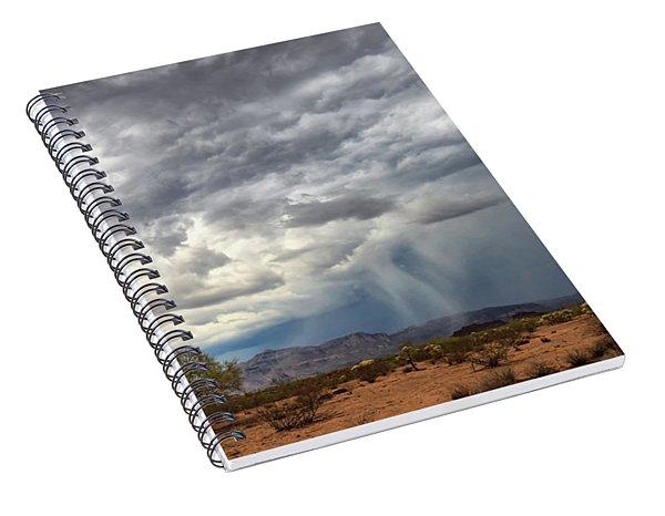 Wind And Rain Spiral Notebook
