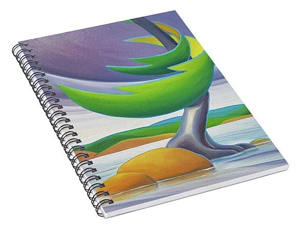 Windswept II Spiral Notebook
