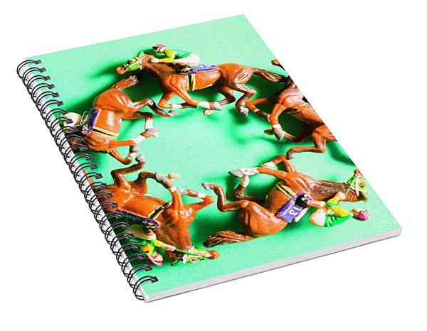 Winners Circle Spiral Notebook