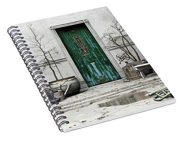 Winter Garden Spiral Notebook