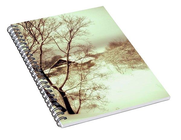 Winter Loneliness Spiral Notebook