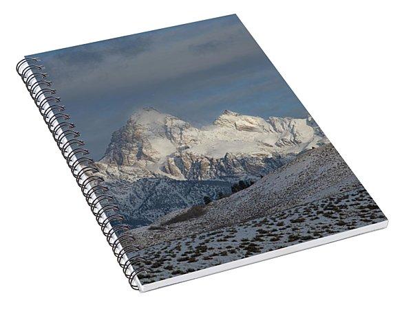 Winter Morning - Grand Teton National Park Spiral Notebook