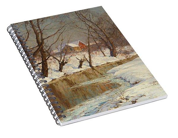 Winter Morning Spiral Notebook