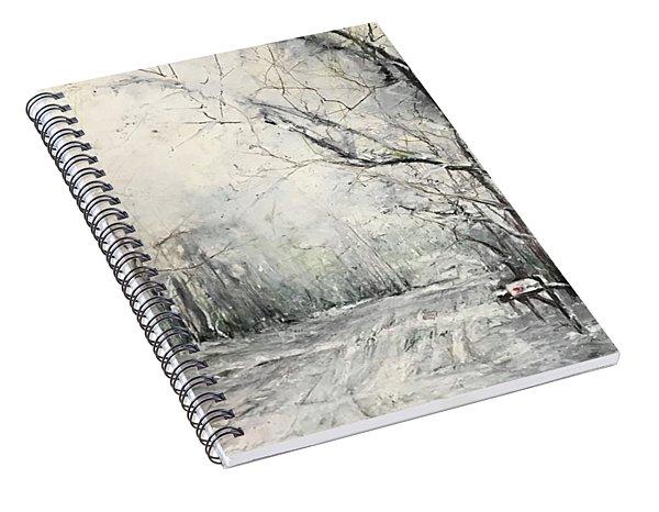 Dee Street Series Winter Wonderland Spiral Notebook
