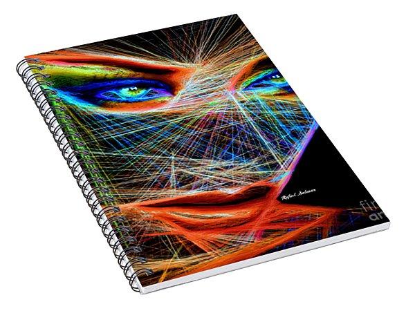 Wiretapped Period Spiral Notebook