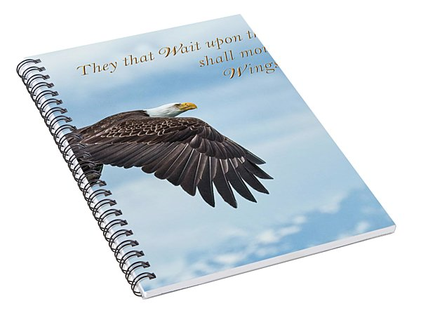 With Wings As Eagles Spiral Notebook