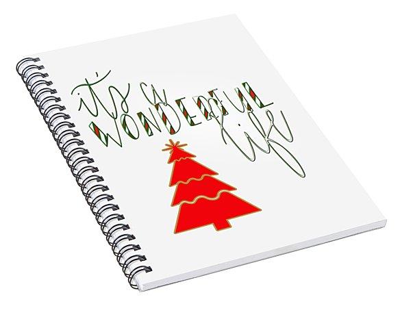 Wonderful Life Spiral Notebook