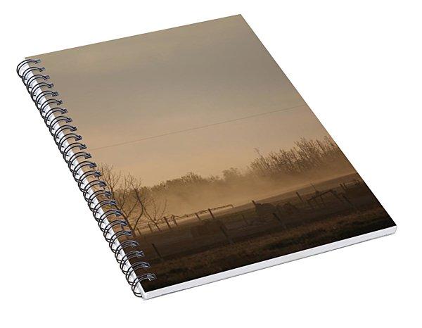Working The Field Spiral Notebook