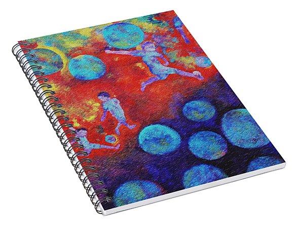 World Soccer Dreams Spiral Notebook