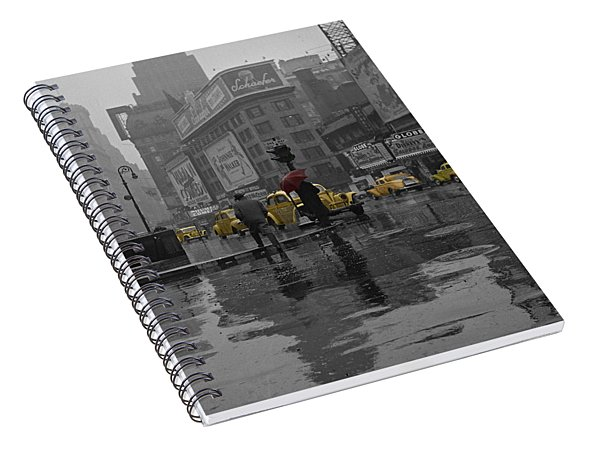Yellow Cabs New York Spiral Notebook