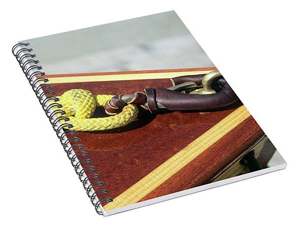Yellow Line Spiral Notebook