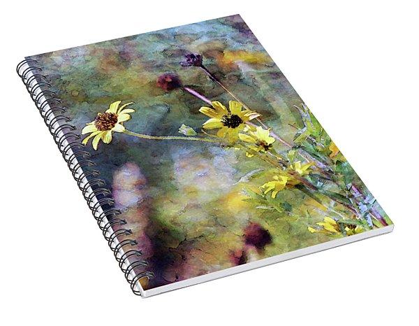 Yellow Wildflowers 3230 Idp_2 Spiral Notebook